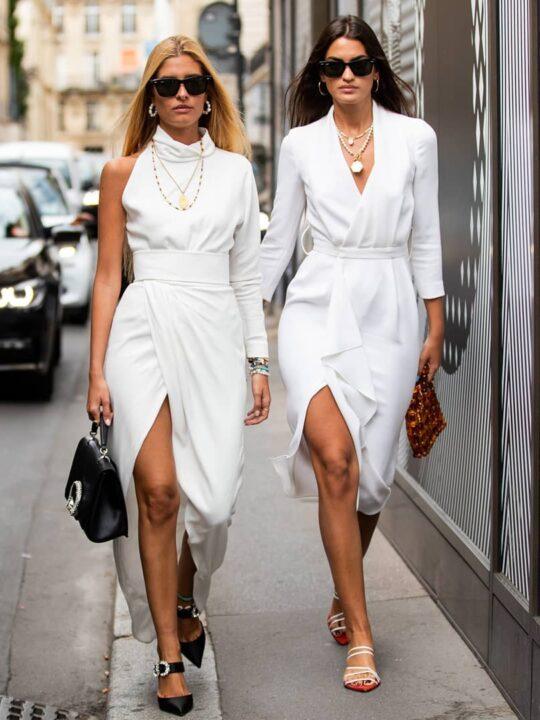 Λευκό φόρεμα: Πώς ενσωματώνεται σε total white looks για το καλοκαίρι;