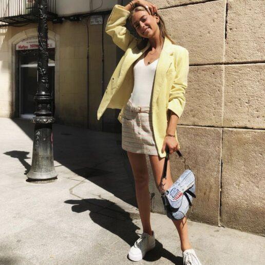 Sneakers και φούστα: 7 συνδυασμοί για την άνοιξη