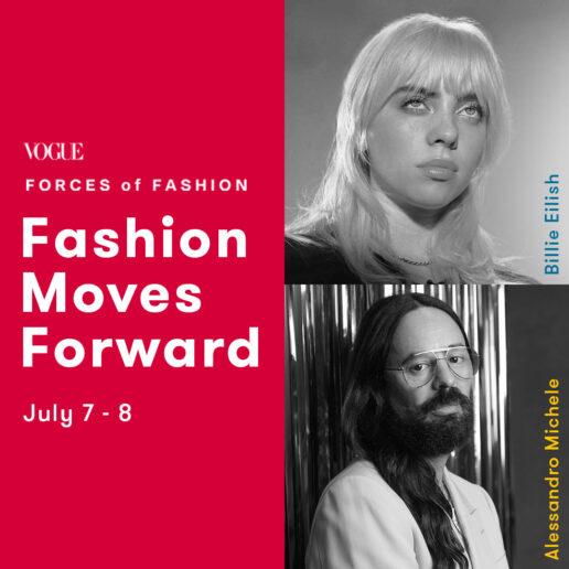 Billie Eilish & Alessandro Michele στο Vogue Forces of Fashion Summit
