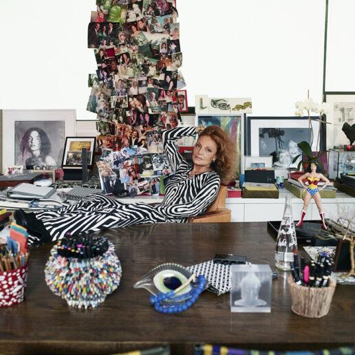 H Diane Von Fürstenberg στη Vogue Greece