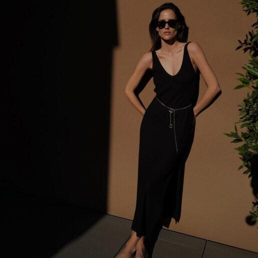7 budget-friendly μαύρα φορέματα για τα elegant outfit του καλοκαιριού