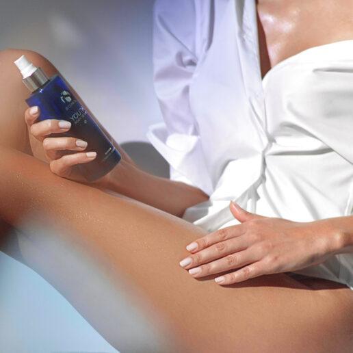 Το σέρουμ σώματος για απαλό σφριγηλό δέρμα