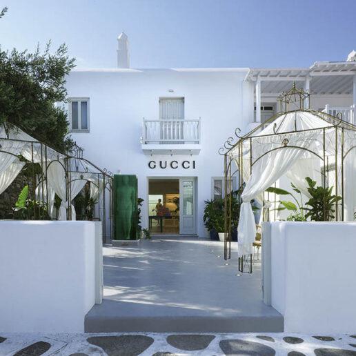 Ο οίκος Gucci ανοίγει νέα μπουτίκ στη Μύκονο