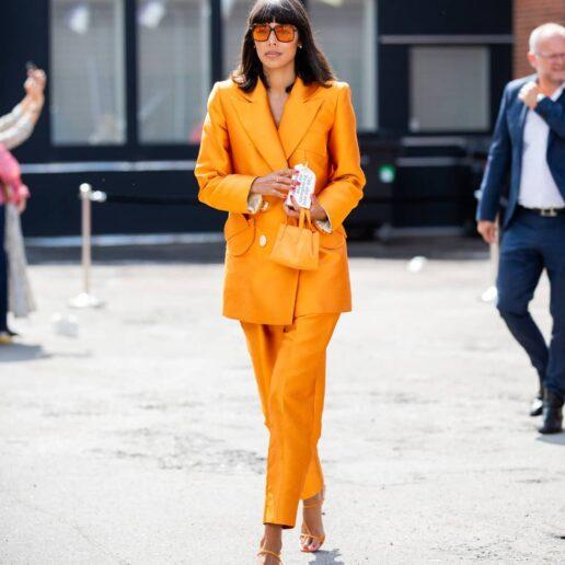 Οι πιο καλοντυμένες γυναίκες φορούν πορτοκαλί