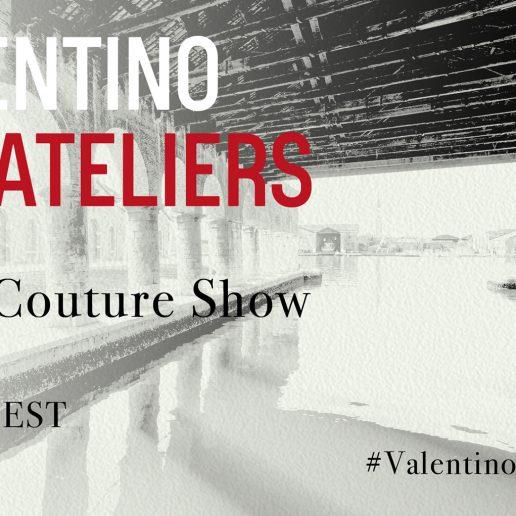 Δείτε live το Haute Couture show του οίκου Valentino από τη Βενετία μέσα από τη…