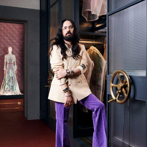 O Alessandro Michele μας ξεναγεί στο νέο Gucci Archive στη Φλωρεντία