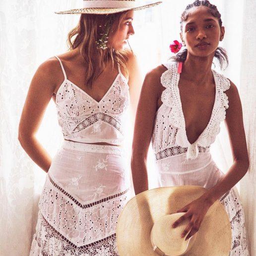 Λευκό φόρεμα με δαντέλα: Το θέλουμε σίγουρα για το καλοκαίρι