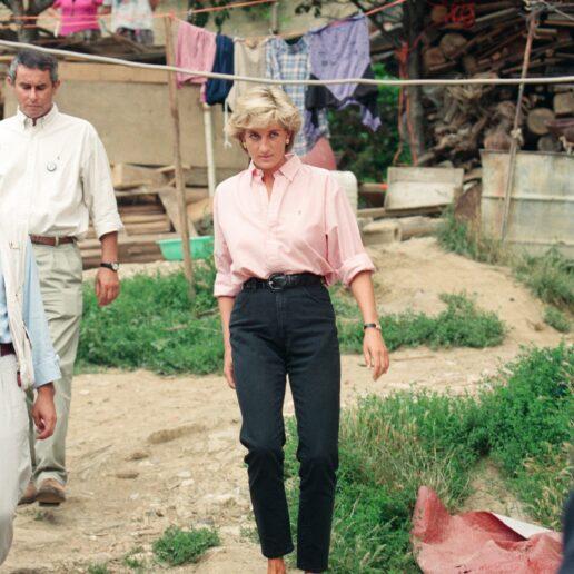 Τα αγαπημένα πουκάμισα της Πριγκίπισσας Νταϊάνα είναι ακόμα τάση