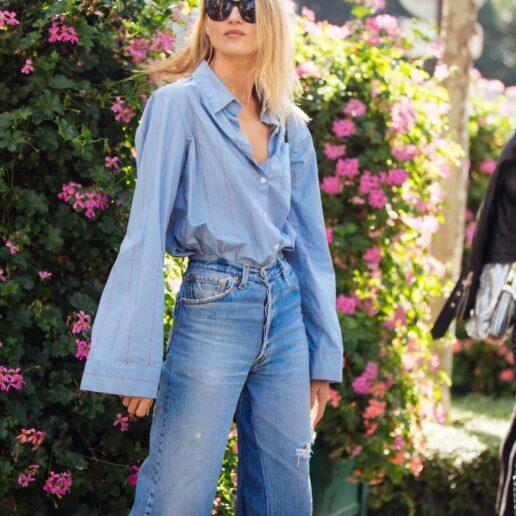 Πουκάμισο & τζιν παντελόνι: Τα street style look που θα αντιγράψουμε