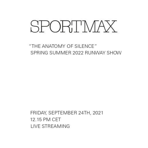 Δείτε live το SS22 show του οίκου Sportmax από τη Milan Fashion Week