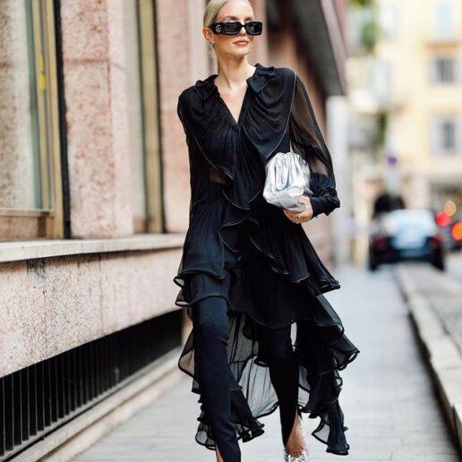Μακρύ φόρεμα: 6 τρόποι να το φορέσετε και το χειμώνα