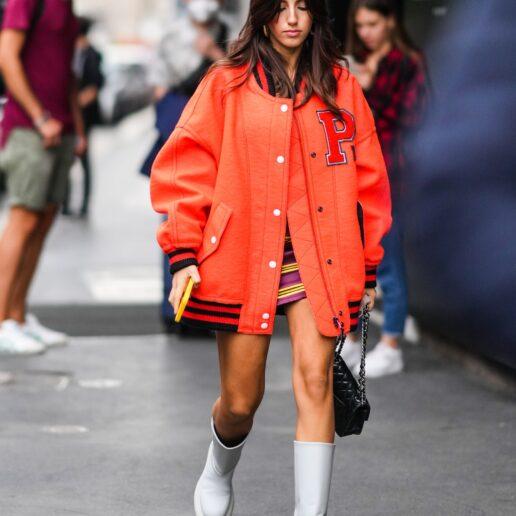 Kολεγιακό τζάκετ: Πώς το φορούν οι street stylers τώρα;