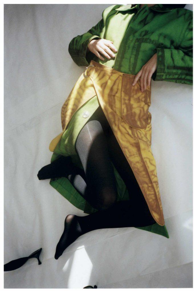 Photos: Gwenaelle Trannoy. Model: Magdalene Fores. Styling: Isabel Bonner. Casting: Issey Brunner.