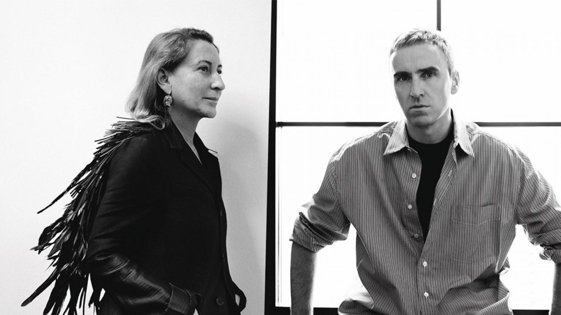 PRADA | Miuccia Prada, Raf Simons