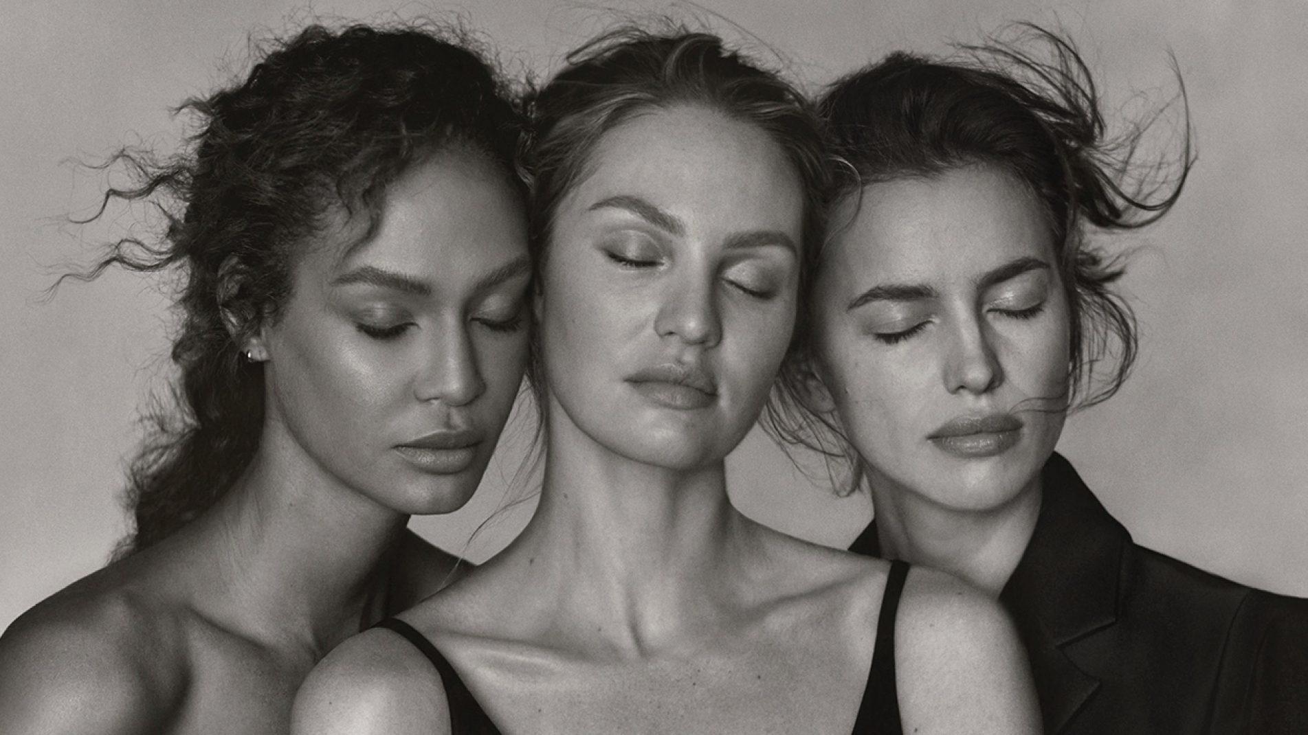Irina Shayk, Joan Smalls και Candice Swanepoel στην Vogue Greece