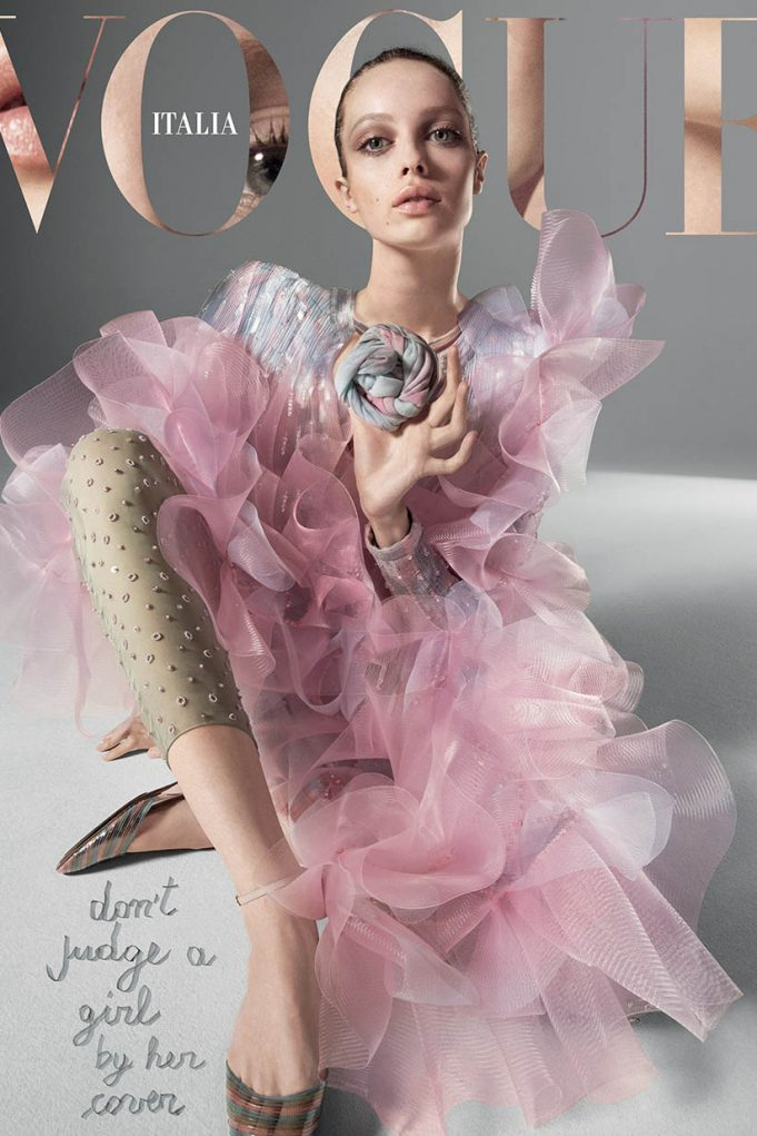 Vogue Italia March 2020 cover by Mert & Marcus
