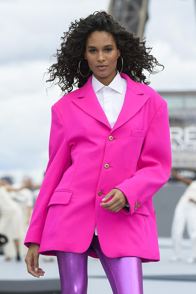 Cindy Bruna by Kristy Sparow/Getty Images for L'Oreal)