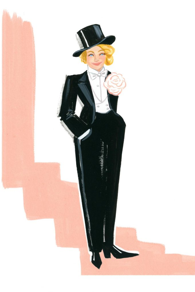Nevertheless, She Wore It: 50 Iconic Fashion Moments by Ann Shen (Chronicle Books) © 2020 Ann Shen