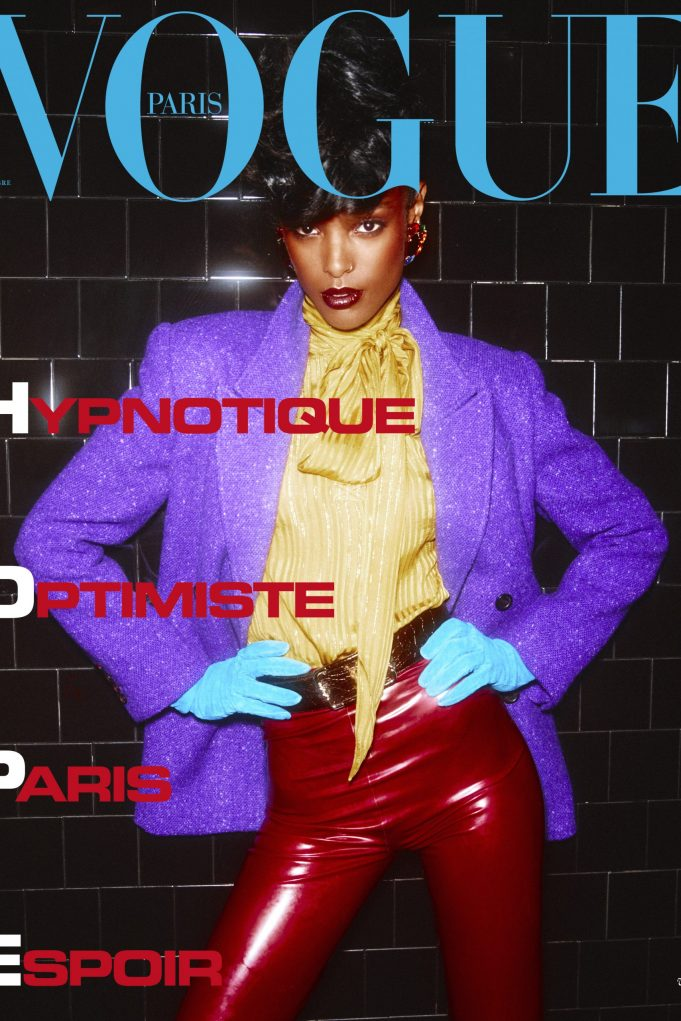 Vogue Paris September 2020 featuring Malika Louback