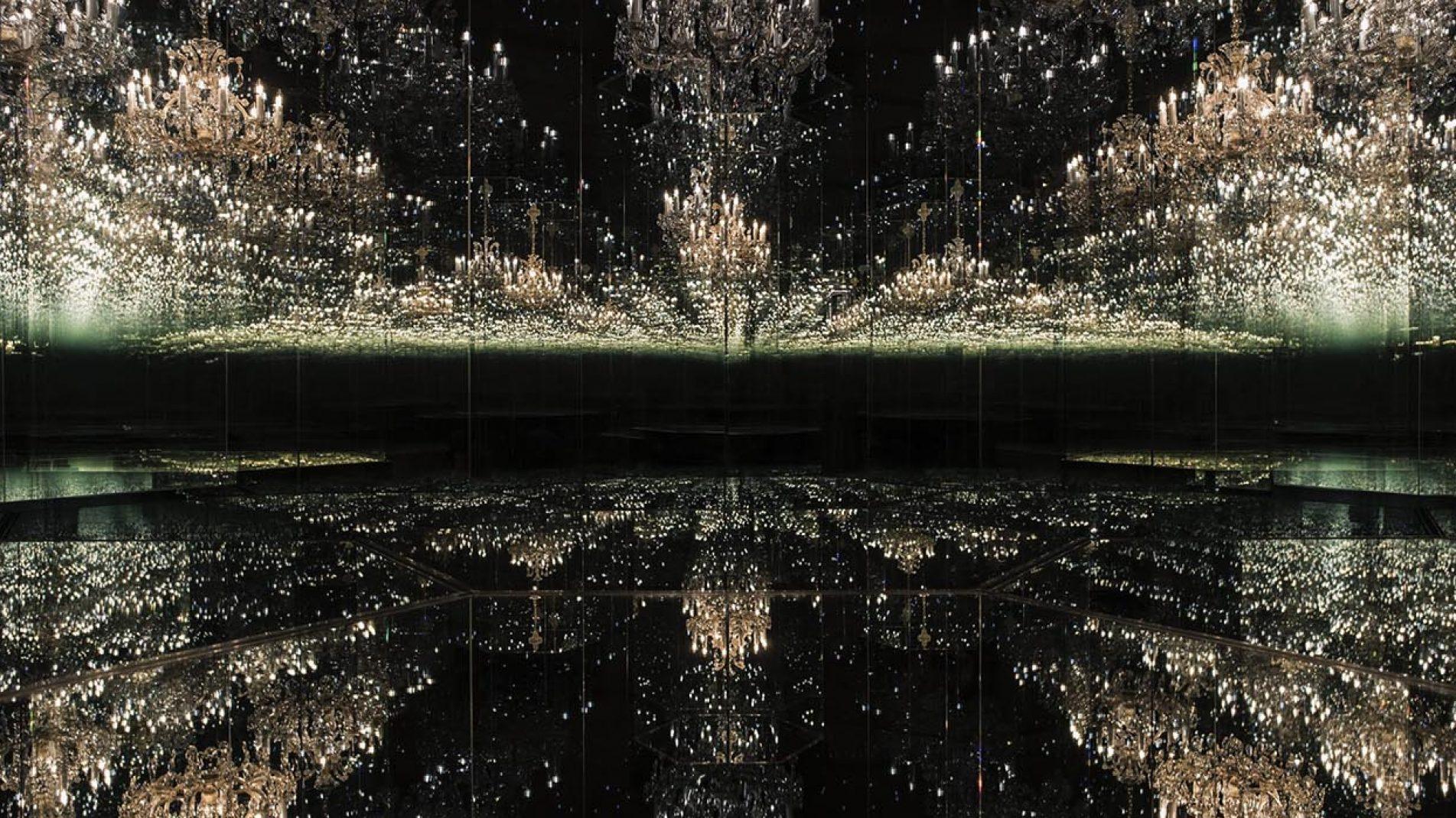 Courtesy Ota Fine Arts and Victoria Miro | Yayoi Kusama Chandelier of Grief 2016