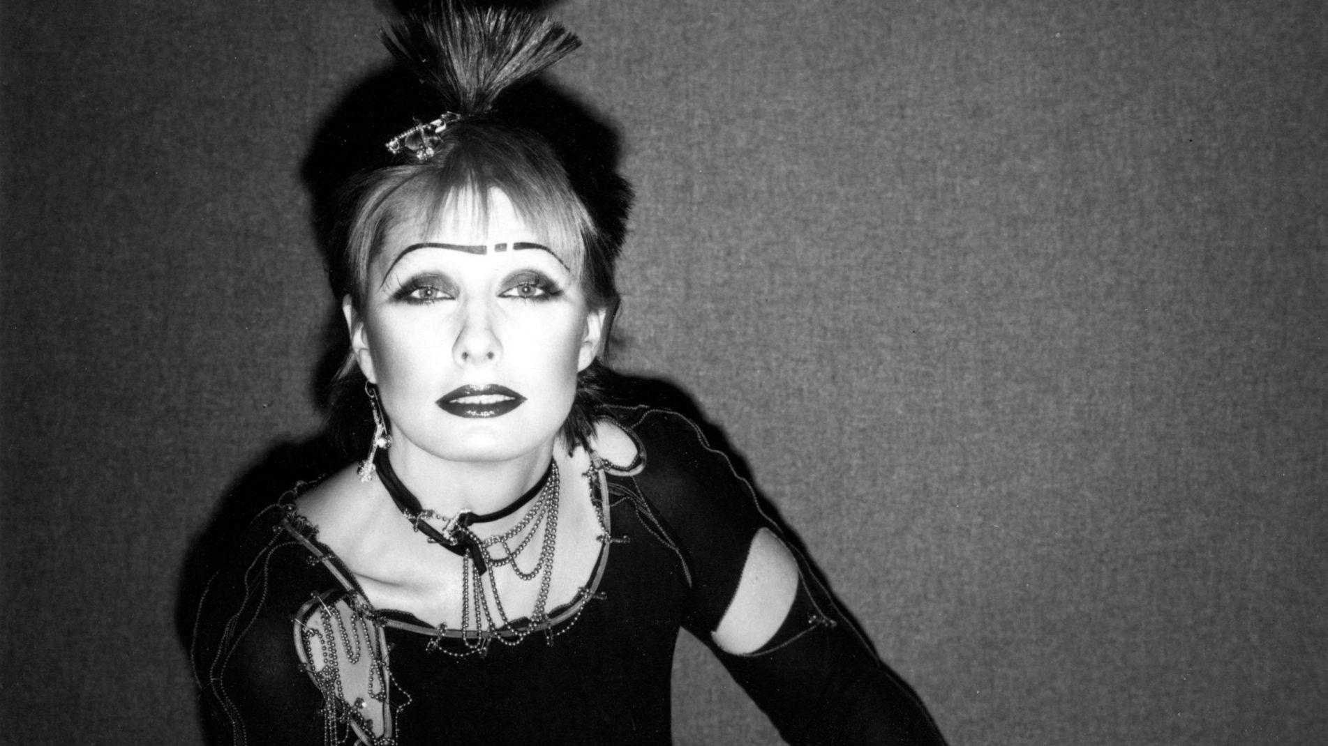 Zandra Rhodes, 1977   Photograph by John Swannell
