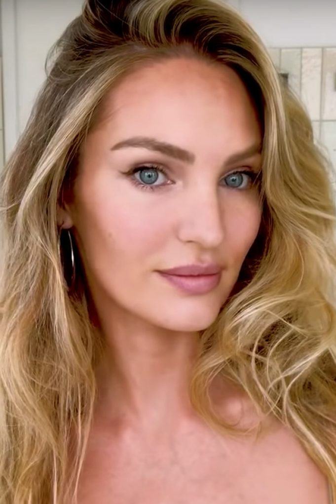 Candice Swanepoel/ Beauty Secrets, Vogue Magazine