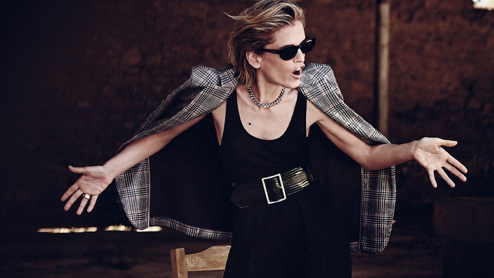 First Cover | Cover Star: Denise Gough | Boo George: Photographer | Daniela Agnelli: Fashion Editor