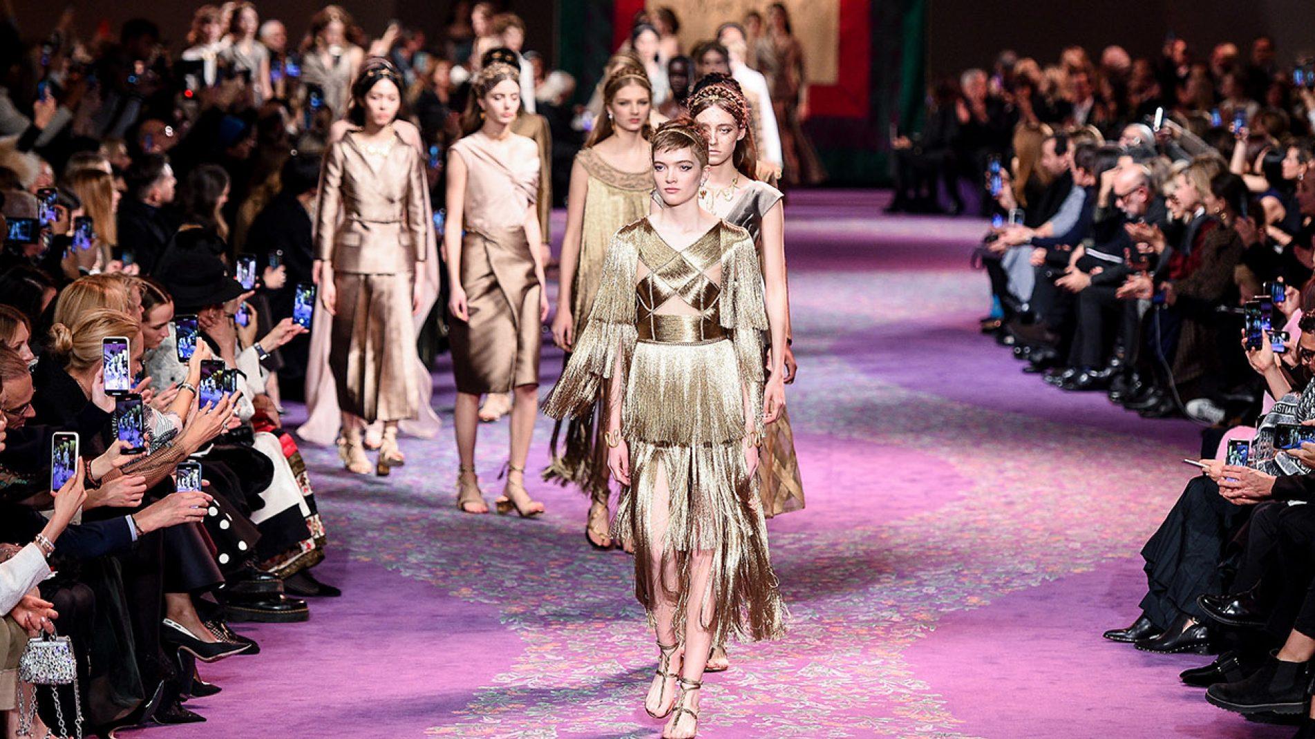 pixelformula | Haute Couture Fashion Week 2020 Paris, house of Christian Dior