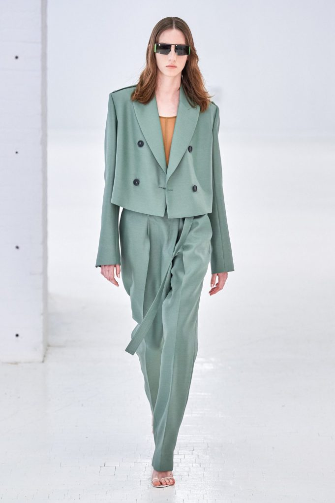Gorunway.com | Helmut Lang Spring Summer 2020 Fashion Show | Teddy Quinlivan