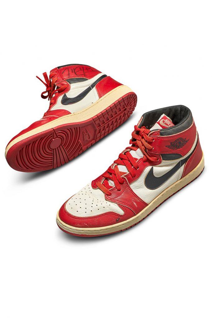 Michael Jordanshoes auction