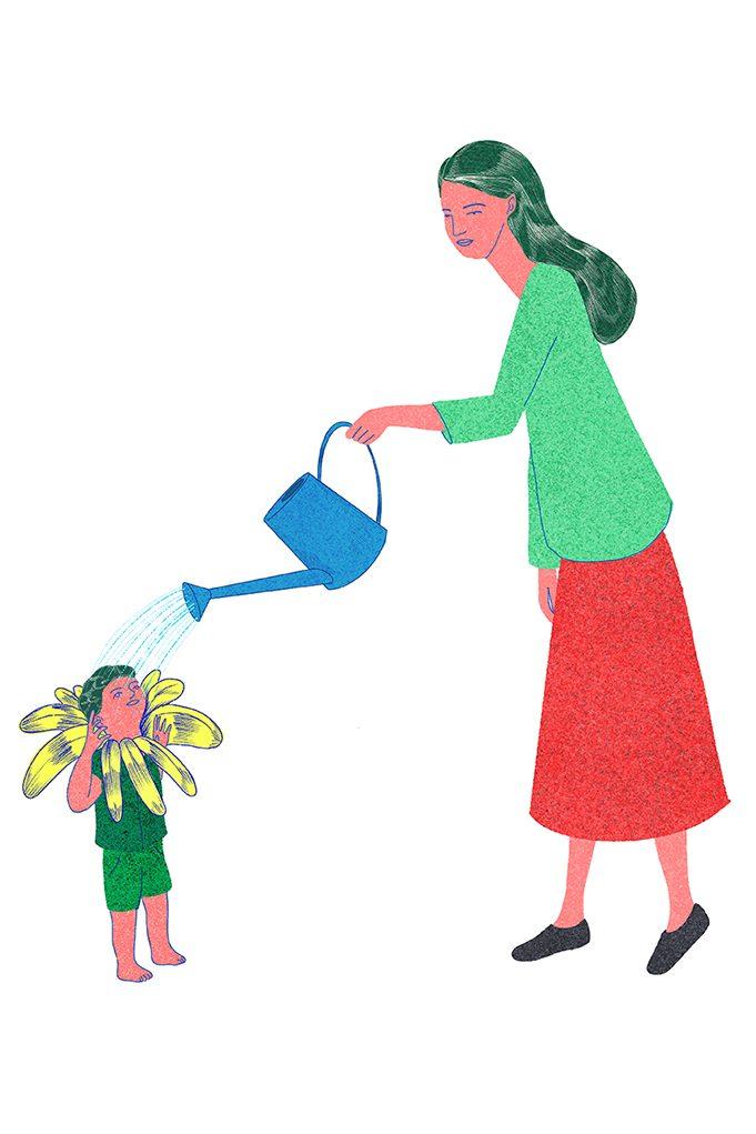 Illustration by Stasele Jakunskaite